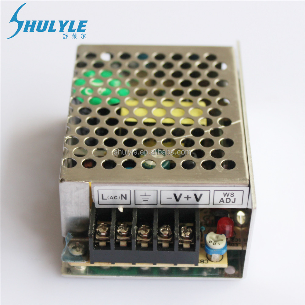High efficiencyAlimumn housing enclosed 24V1A 24W led switching mode cctv power supply