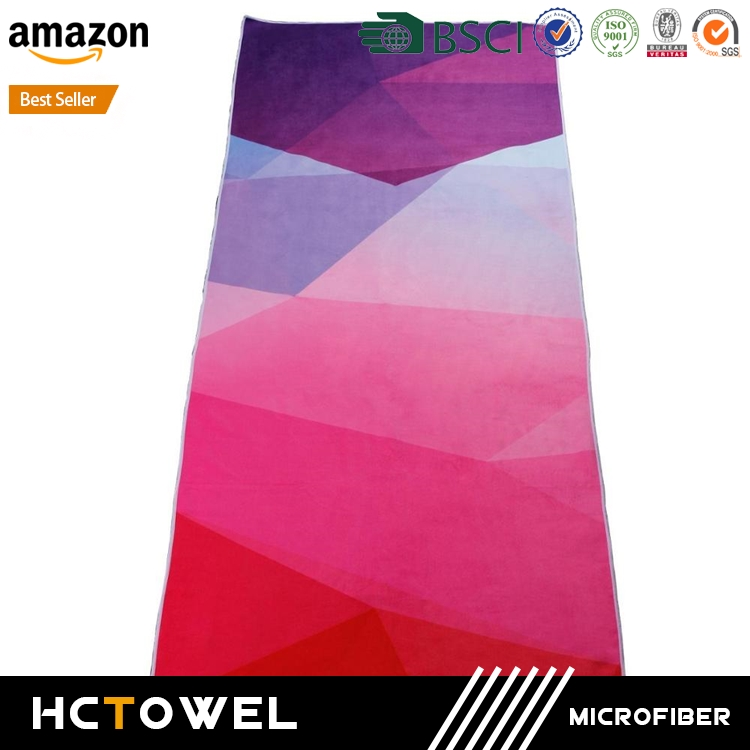 Manufacture Wholesale Custom microfaser microfiber travel sport towel with mesh bag