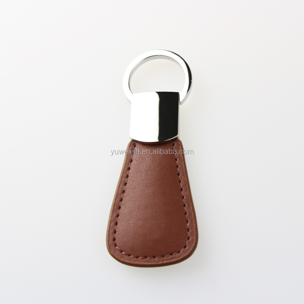 Wholesale Hot Selling Customed Personalised Leather Key Chain Ring Holder