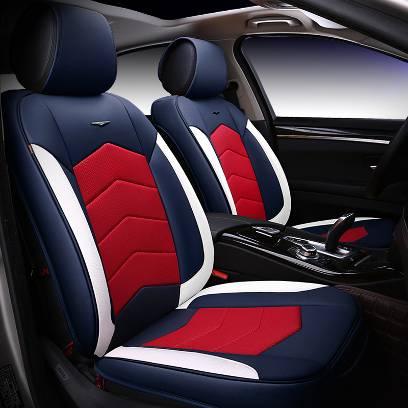 5D Activity sports style PU leather car seat cover universal size