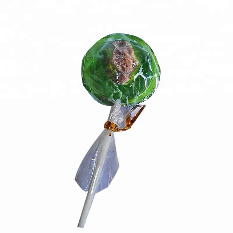 Round dried plums lollipop candy,preserved plum lollipop candy