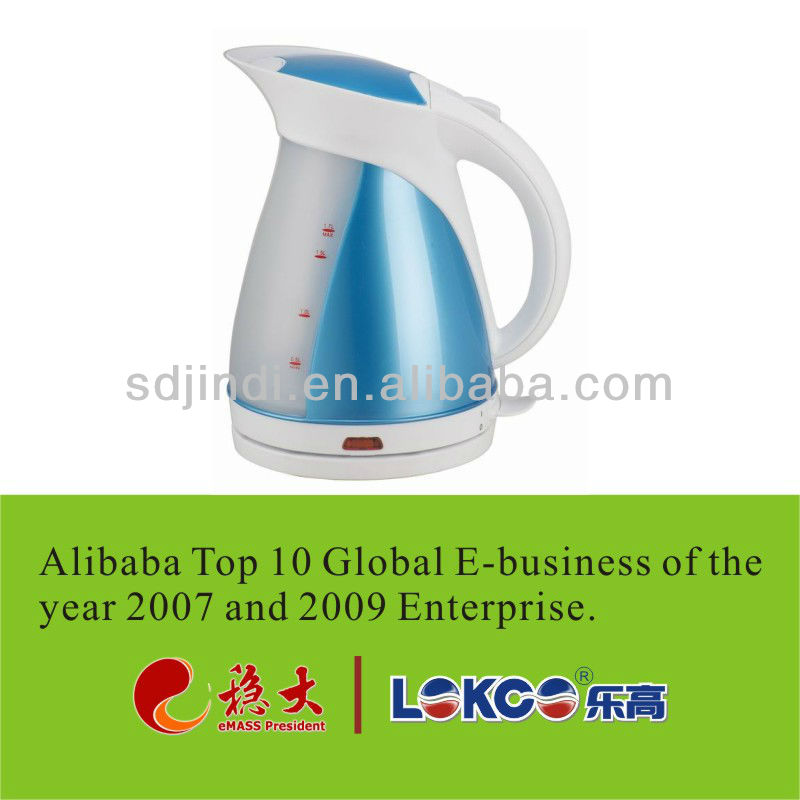 Hot sale Plastic electric tea kettle LG-818D red