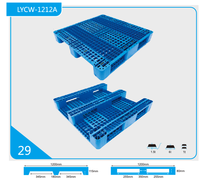 Cheap HDPE plastic pallets for sale