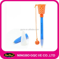 Basketball pen Plastic pen, custom printing welcome