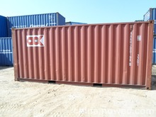 20ft used shipping container for sale export SOC container in shanghai,shenzhen