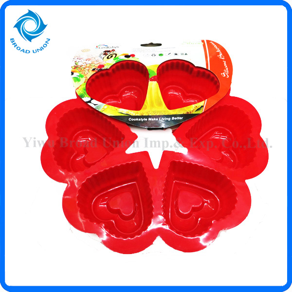 Silicone Fried Egg Mould Silicone Castle Cake Mould