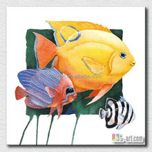 Children bedroom wall decoration cartoon fish pictures