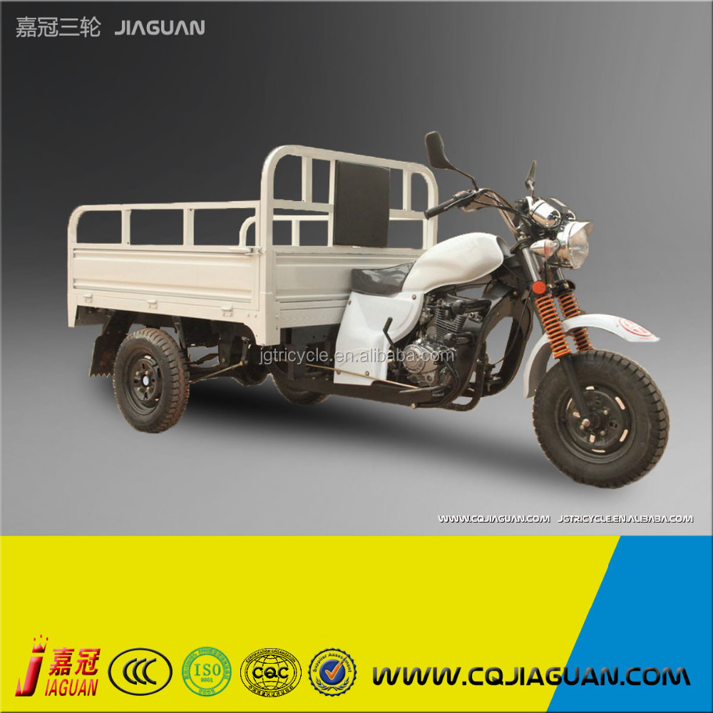 White 3 Wheeled Motorcycle With Disel Engine For Sale