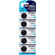 Top selling 3V Coin Cell Button Non Rechargeable 3v Button Cell Lithium Battery Cr2016