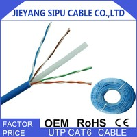 Hotsale 100m cca cat 6 utp cable specification
