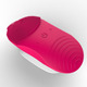 Pink Newest IPX7 Super Waterproof Silicone Facial Vibrating Cleaning Brush