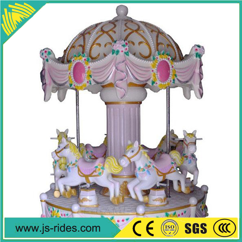 small carousel for children indoor amusement rides hot sale