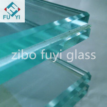 12.76mm good quality clear laminated glass for building