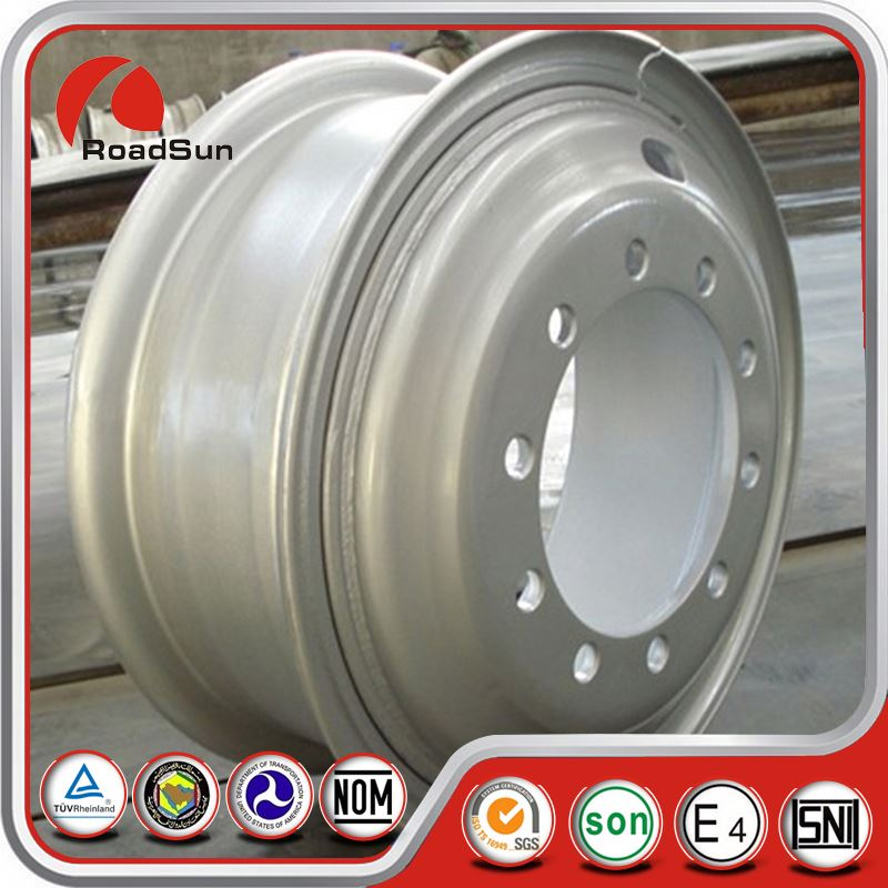 For Jeep Or Tractor Steel Silver Wheel Rims