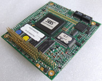 SBS SCM/SPT2F All-in-One PC/104 CPU Board, industrial motherboard SCM/SPT2F-300-128M with GX1 CPU working