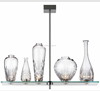 Indoor Lighting Fixtures Glass Bowls Chandelier for Decoration