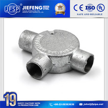 BS Electrical Conduit Steel Tube Coupler For Pipe Fitting