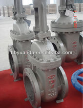"API 12"" cast steel Rising Stem gate valve Flange End"