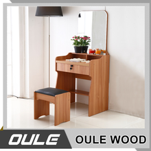 Indian Bedroom Furniture Design Wooden Vanity Dressing Mirrored Table