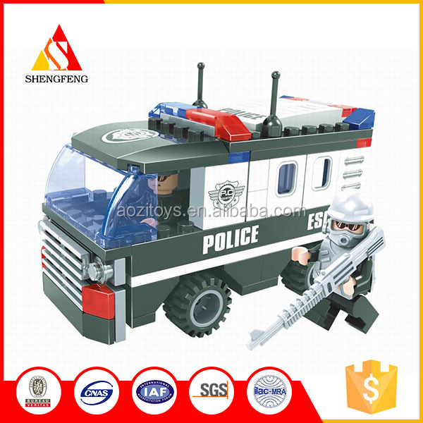 diy plastic toy police set Police detain such car boys play set