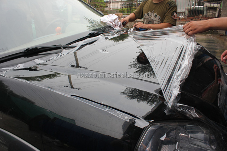 car body protection film aluminum profile window film adhesive pe protect film
