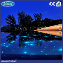 Top quality swimming pool fibre optic lighting with LED light engine and end glow fiber optic
