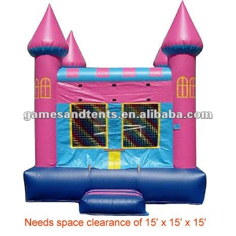 2012 new inflatable Little King trampoline castle A1051