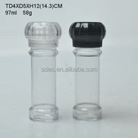 plastic salt and pepper mill and grinder