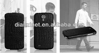 For samsung galaxy s4 case,galaxy s4 i9500 crocodile leather case accept PAYPAL