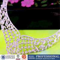 Fashionable crystal necklace, wholesale cheap necklace jewelry