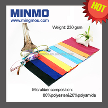 Colorful display TV/glasses custom print microfiber lens cleaning cloth