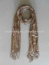 Custom made yarn dyed modern scarf shawl
