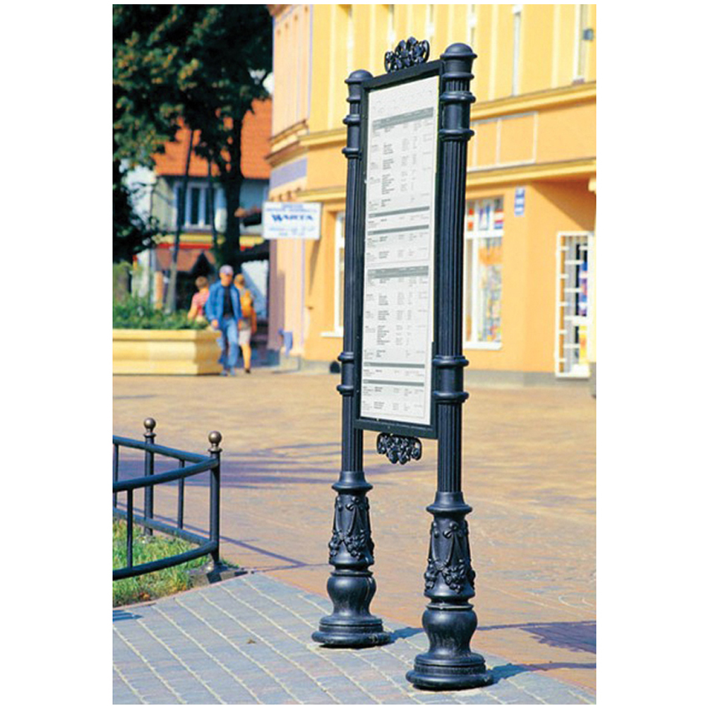 Hot Selling 4MGalvanized Outdoor Used Decorative Street Garden Sign Posts DH-325001