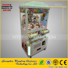 Mini toys story coin operated plush toy machine with Free stickers design