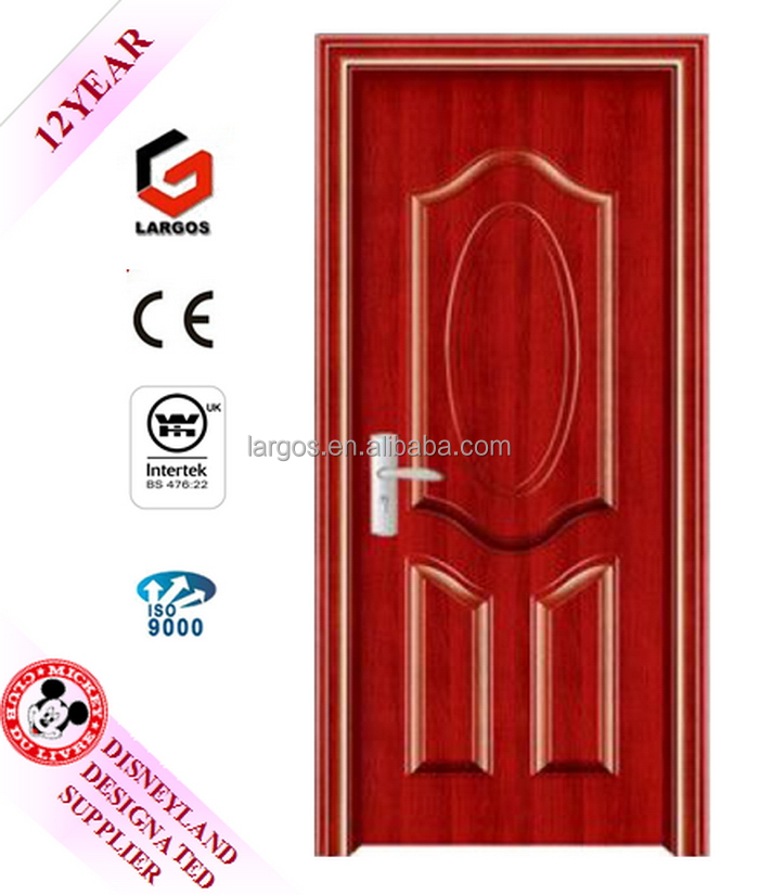 China factory price promotional double leaf steel fire security door