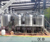 500 L used brewery equipment for sale