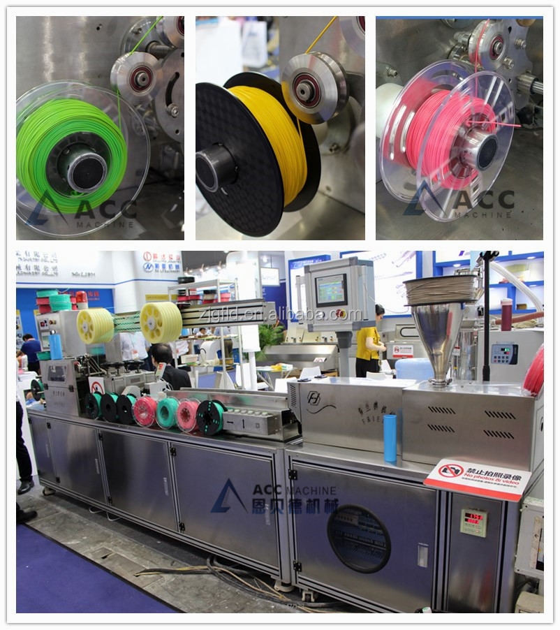 monofilament machinery /PET plastic filament extruding machine /broom making machine