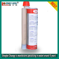 CY-899 epoxy steel bar anchorage adhesive, epoxy steel bar planting glue, with glue gun