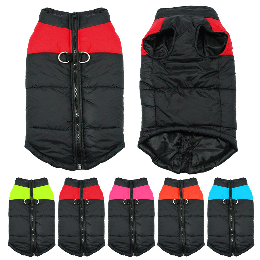 Berry Waterproof Warm Padded Vest wholesale dog clothes