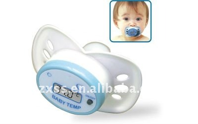 Infant Alarm Pacifier/nipple Thermometer For Home Care/Health Care(TM-T-2-C)