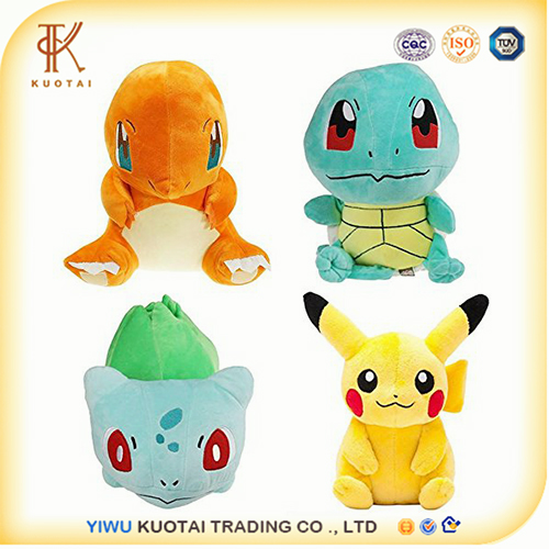 Pikachu Bulbasaur Squirtle Charmander Pokemon Plush toys Soft Plush