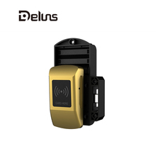 Deluns smart digital electronic RFID combination cabinet door lock for spa sauna gym