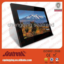 "2014 new product! digital photo frame support photo/music/video OEM muti-functional 19"" digital photo frame"