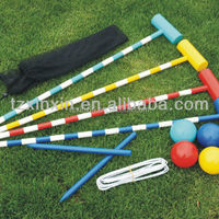 Colorful Entertainment Products Outdoor Toys Croquet
