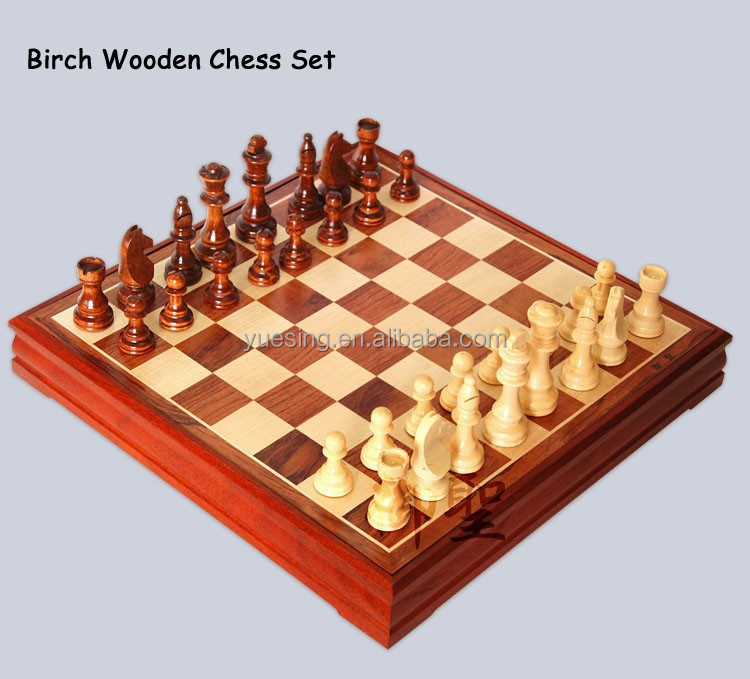 Cheap Price!! Alibaba Chess Piece Manufacturers Outdoor Wooden Chess Set