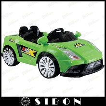SIBON 12V 7ah two seat ride on toy car for kids