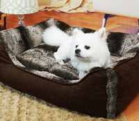 Good selling luxury pet bed fabric cat house , elevated pet house