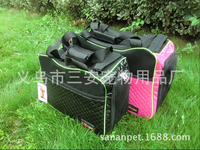 car travel bag for pet supplies, aluminum dog trolley pet trolley