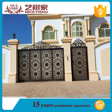 new kinds of aluminum main gate/aluminum door designs for sale/The Rotproof Aluminum Fence,School Gates Designs Fence/Sliding Ga