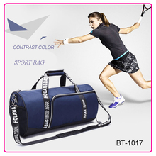 OEM barrel sports travel gym hand bag
